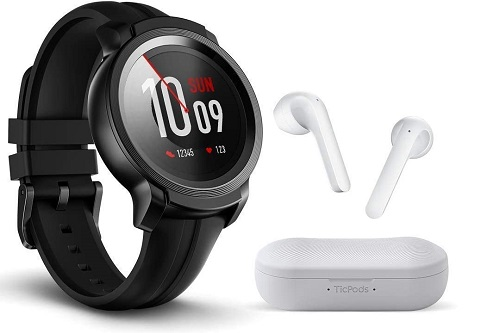 Ticwatch with earpods